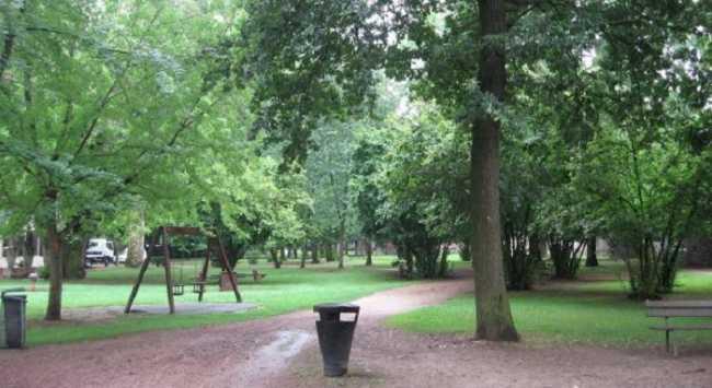 Borgomanero parco Villa Marazza