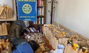 Borgomanero Ciss Rotary spesa