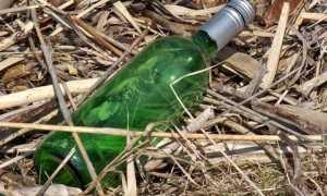 bottiglia rifiuto