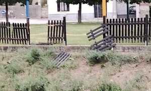 romagnano vandalismi